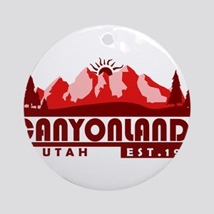 Canyonlands - Utah Round Ornament