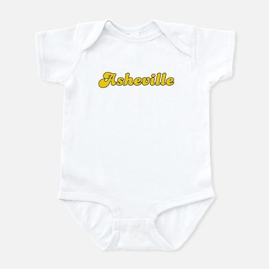 Retro Asheville (Gold) Infant Bodysuit