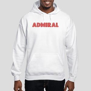 Retro Admiral (Red) Hooded Sweatshirt