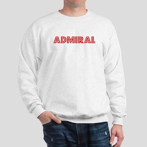 Retro Admiral (Red) Sweatshirt