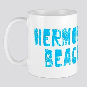 Hermosa Beach Faded (Blue) Mug