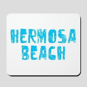 Hermosa Beach Faded (Blue) Mousepad