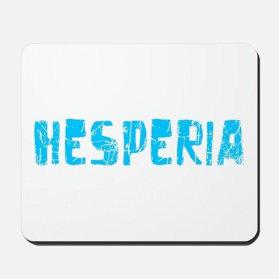 Hesperia Faded (Blue) Mousepad