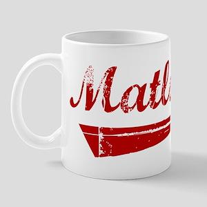 Matlock (red vintage) Mug