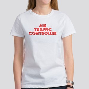Retro Air traffic.. (Red) Women's T-Shirt