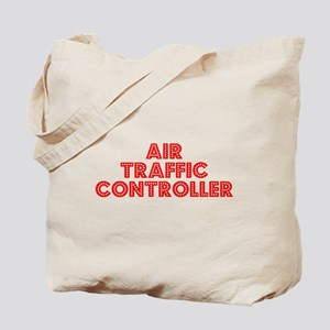 Retro Air traffic.. (Red) Tote Bag