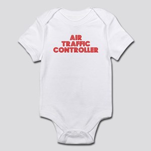 Retro Air traffic.. (Red) Infant Bodysuit