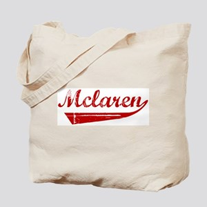 Mclaren (red vintage) Tote Bag