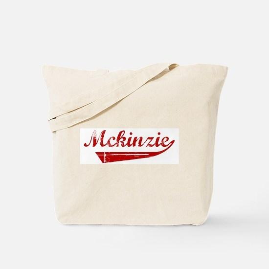 Mckinzie (red vintage) Tote Bag