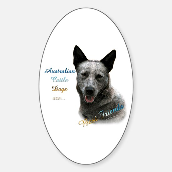 ACD Best Friend1 Oval Decal