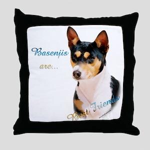 Basenji Best Friend1 Throw Pillow