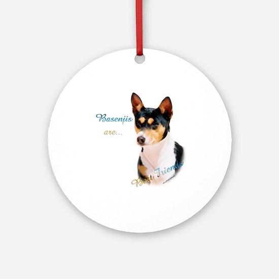 Basenji Best Friend1 Ornament (Round)