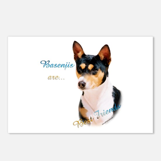 Basenji Best Friend1 Postcards (Package of 8)