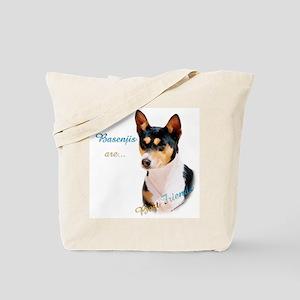 Basenji Best Friend1 Tote Bag