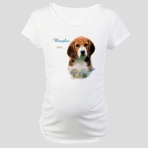 Beagle Best Friend1 Maternity T-Shirt