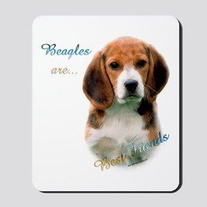 Beagle Best Friend1 Mousepad