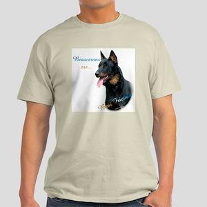 Beauceron Best Friend1 Light T-Shirt