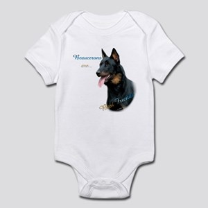 Beauceron Best Friend1 Infant Bodysuit