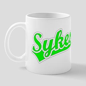 Retro Sykes (Green) Mug