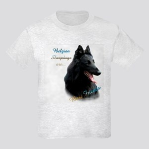 Belgian Sheep Best Friend1 Kids Light T-Shirt