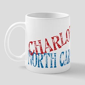 Charlotte North Carolina Retro Mug