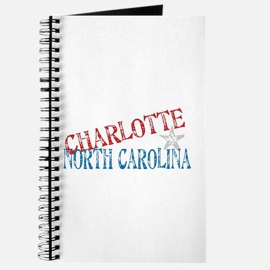 Charlotte North Carolina Retro Journal