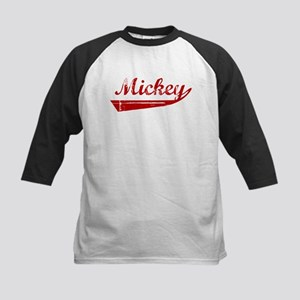 Mickey (red vintage) Kids Baseball Jersey