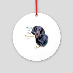 B&T Coonhound Best Friend1 Ornament (Round)