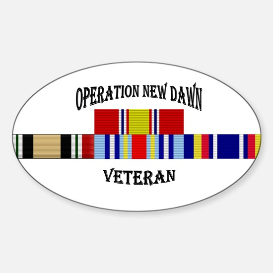 Operation New Dawn Ribbon Decal