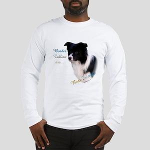 Border Collie Best Friend1 Long Sleeve T-Shirt