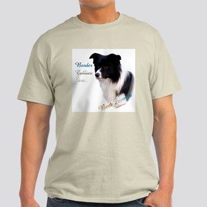 Border Collie Best Friend1 Light T-Shirt