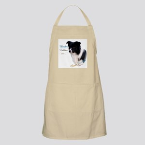 Border Collie Best Friend1 BBQ Apron
