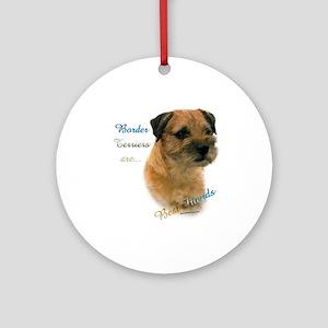 Border Terrier Best Friend1 Ornament (Round)