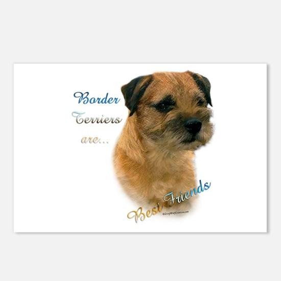 Border Terrier Best Friend1 Postcards (Package of