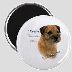 Border Terrier Best Friend1 Magnet