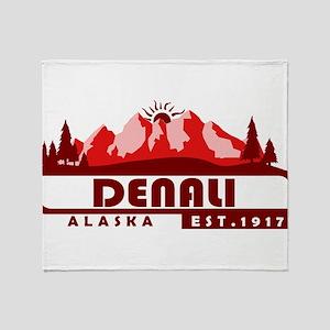 Denali - Alaska Throw Blanket