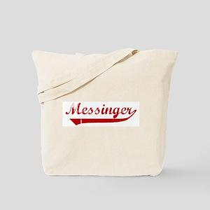 Messinger (red vintage) Tote Bag