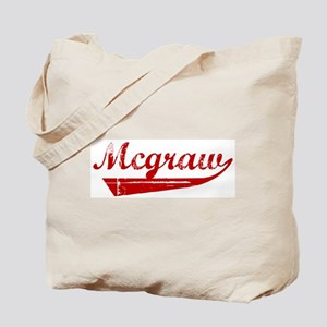 Mcgraw (red vintage) Tote Bag