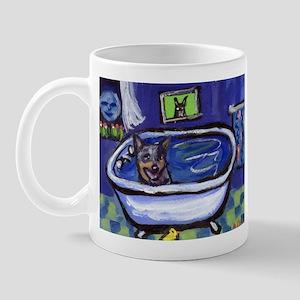 AUSTRALIAN CATTLE DOG BATH Mug