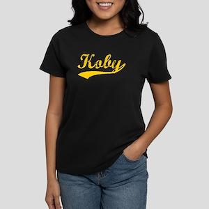Vintage Koby (Orange) Women's Dark T-Shirt