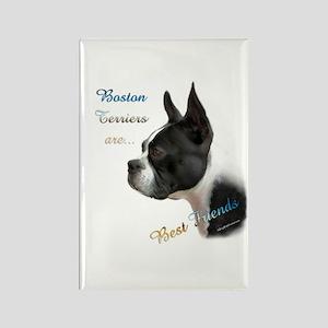 Boston Best Friend1 Rectangle Magnet
