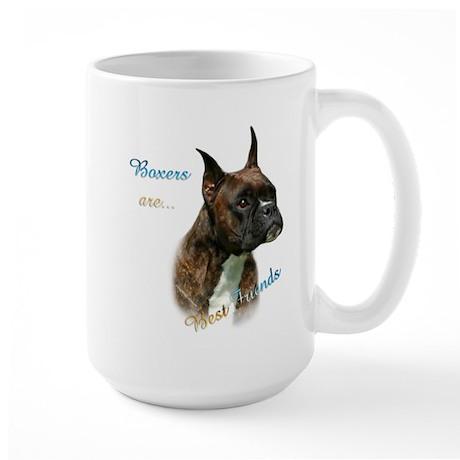 Boxer Best Friend1 Large Mug