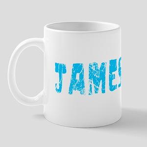 Jamestown Faded (Blue) Mug