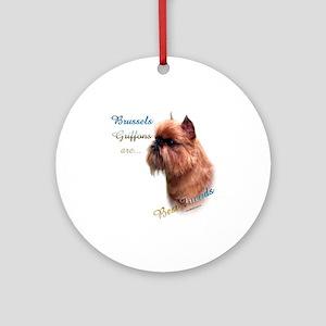 Brussels Best Friend1 Ornament (Round)
