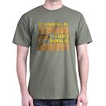 If Fishing is Wrong Dark T-Shirt