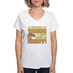 If Fishing is Wrong Women's V-Neck T-Shirt