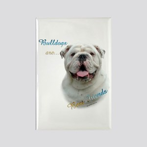 Bulldog Best Friend1 Rectangle Magnet
