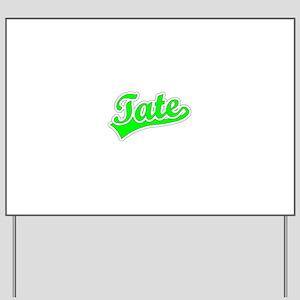 Retro Tate (Green) Yard Sign