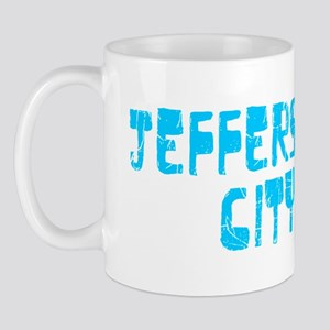 Jefferson City Faded (Blue) Mug