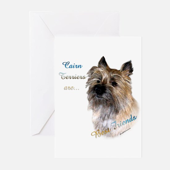 Cairn Best Friend1 Greeting Cards (Pk of 10)